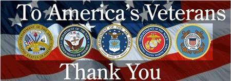 Image result for Veterans thank you